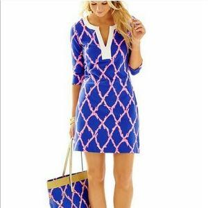 Lilly Pulitzer Santorini Blue Veranda Tunic
